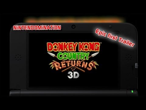Donkey Kong Country Returns 3D #1