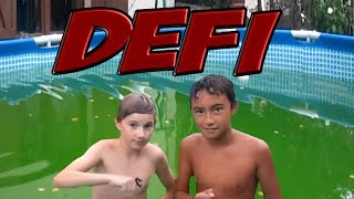 Video DEFI : NAGER DANS UNE PISCINE SALE  !!! :o MP3, 3GP, MP4, WEBM, AVI, FLV Oktober 2017