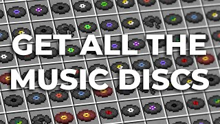 How to Get Every Music Disc in Minecraft!
