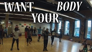 Sean Paul - Want Your Body ft. LeftSide | T-Roc Choreography | IPR Class