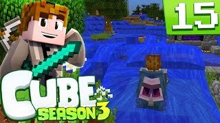 Minecraft: Cube S3 - Episode 15 - WATERING THE NORTH PRANK (Minecraft Cube SMP Season 3)