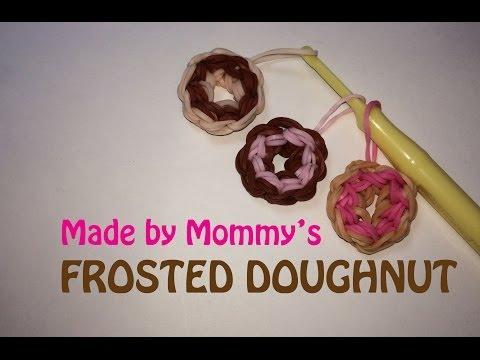 Rainbow Loom Frosted Doughnut Charm
