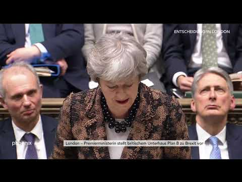 Theresa May zum »Plan B« für den Brexit-Deal am 21.01.19