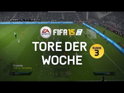 TORE - Schöne Tore aus FIFA 15. Das kannst du besser? Dann mach mit: http://bit.ly/ToreDerWoche Du hast FIFA 15 noch nicht? Dann geht es hier lang: http://bit.ly/FIFA15_Kaufen.