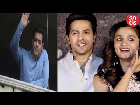 Salman Khan Hosts Eid Bash | Alia Bhatt-Varun Dhaw