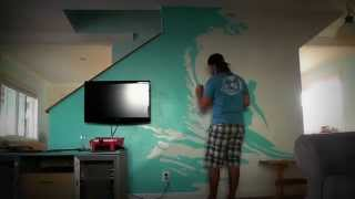 Surf Mural - Time lapse