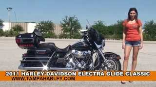 5. Used 2011 Harley Davidson Electra Glide Classic Motorcycles for sale - Lakeland, FL