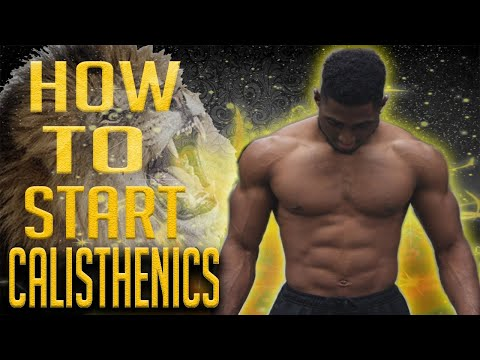 How To Start Calisthenics #1 - Must Know Workout Tip & Advice!