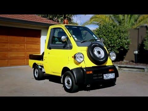 Daihatsu Midget Test Drive