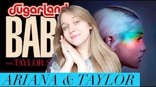 """Ariana Grande """"No Tears Left To Cry"""" & Sugarland ft. Taylor Swift """"Babe"""" 