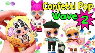New Dolls! Wave 2 Confetti Pop - L.O.L. Surprise Blind Bag Toys, LOL Pets, and Pearl Surprise