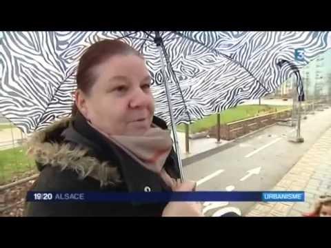 France 3 Alsace - Le 19/20 - 12 janvier 2016 -  Bilan du PNRU en Alsace