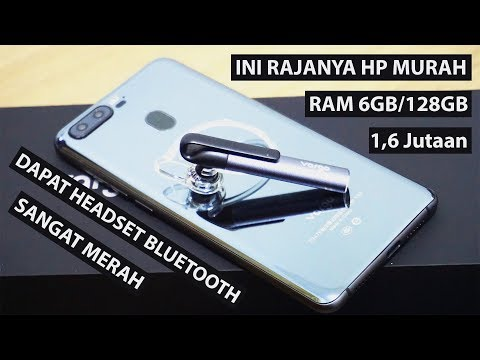 Hp Baru 1 Jutaan RAM 6GB/128GB | Rajanya Hp Gaming Murah | Unboxing & Review