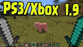 Minecraft PS3, PS4, Xbox360, Wii U - Title Update 1.9 Combat Update Concept Gameplay! (TU36/TU37)