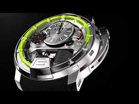 0 HYT H1   Hydro Mechanical Driven Watch