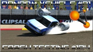 BeamNG Drive Random Vehicle #21 Crash Testing #124 HD
