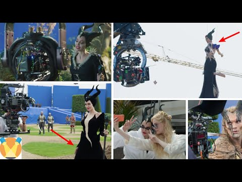 Maleficent 2 Behind the Scenes - Best Compilation