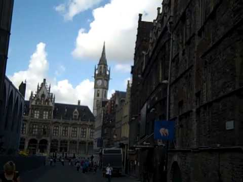 Day 5 in Europe... Walking Tour of Gent, Belgium
