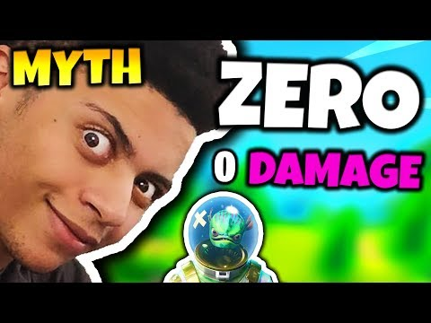 MYTH SHOWS ZERO DAMAGE GLITCH (0 FALL DAMAGE) | Fortnite Daily Funny Moments Ep.39 (видео)