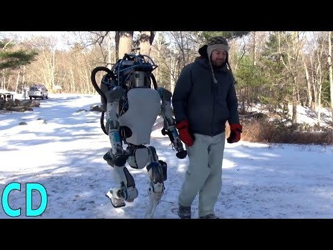 5 Funny demonstrations of robots at boston identical to humans / animals that do everything