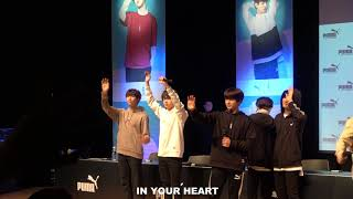 Download Lagu 180408 BTS-푸마 팬싸 마지막 PUMA FANSIGN ENDING Mp3