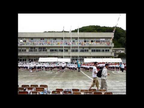 釜利谷東小学校運動会開会式2013)