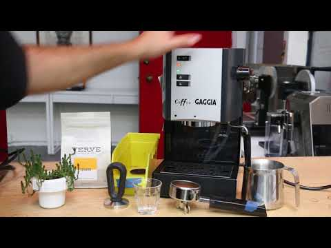 Gaggia Coffee Test After Tune Up 1196