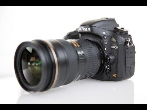 Nikon D600 - wideotest