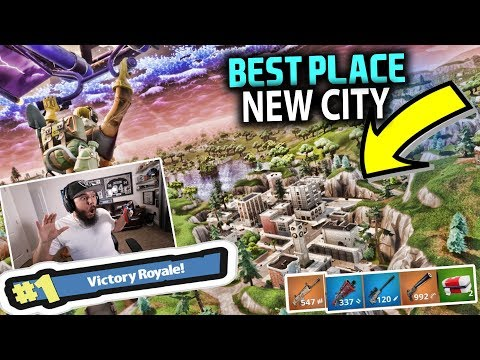 NEW HIDDEN CITY!! NEW MAP - FORTNITE BATTLE ROYALE (видео)
