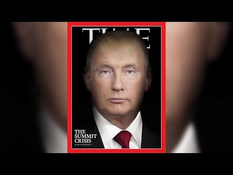 TIME Magazine morphs Trump and Putin's faces for latest cover