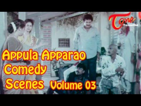 Appula Apparao Comedy Scenes    Back To Back    Volume 03