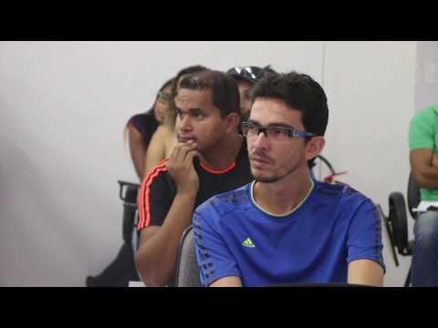 Aula inaugural do curso de Arbitragem com a presen�a do instrutor Manoel Serapi�o