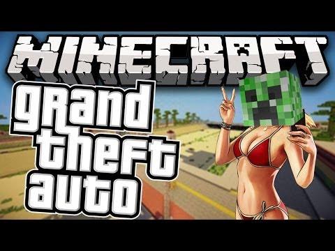 Minecraft: GRAND THEFT AUTO! (GTA)   Minecraft Server