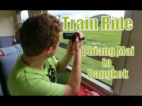 Train Ride in Thailand from Chiang Mai to Bangkok