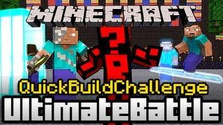 Minecraft Quick Build Challenge - Champion Tournament: The Future!