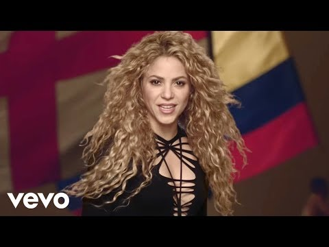 Shakira, La La La (Brazil 2014) Feat. Carlinhos Brown