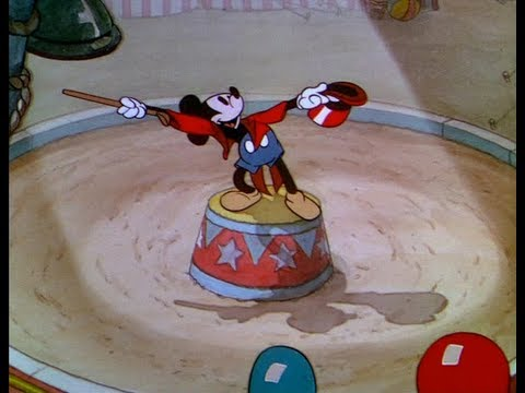 Mickey Mouse - Mickey's Circus - 1936 (HD)
