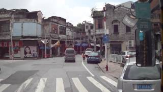 Foshan China  city photo : Public Bus trip in Foshan China