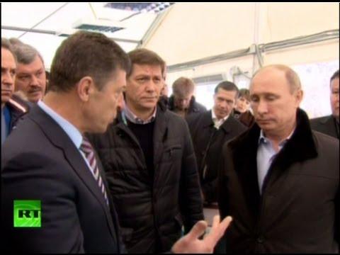 Путин раскритиковал работу Билалова в Сочи