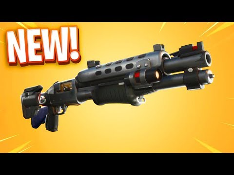 The New LEGENDARY TAC SHOTGUN In Fortnite.. 😂