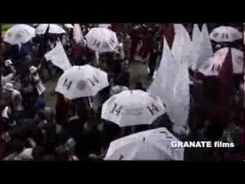 Video - COPA SUDAMERICANA. LANUS RIVER , LA GENTE - La Barra 14 - Lanús - Argentina