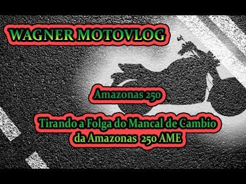 DIY - Tirando a Folga do Mancal de Cambio da Amazonas 250 AME