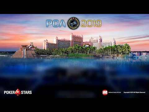 PCA Main Event, Final Table (Cards-Up)
