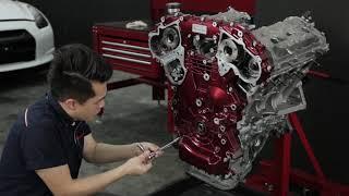 Nissan GT-R R35 Engine Restoration by Hanz autoworks