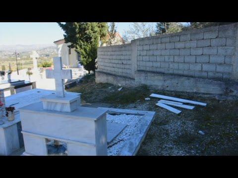 Βανδαλισμός στο κοιμητήριο των Αγ. Θεοδώρων στο Ναύπλιο