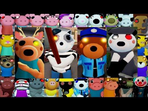 ROBLOX PIGGY BOOK 2 1 ALL JUMPSCARES