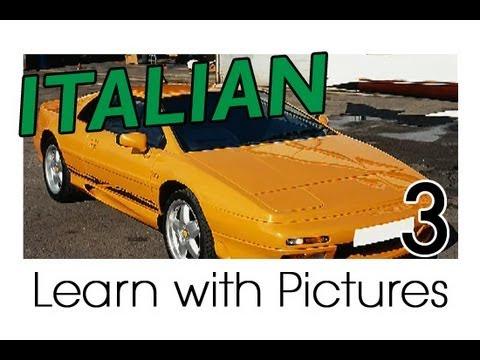 Rund ums Fahrzeug - Italienische Vokabeln