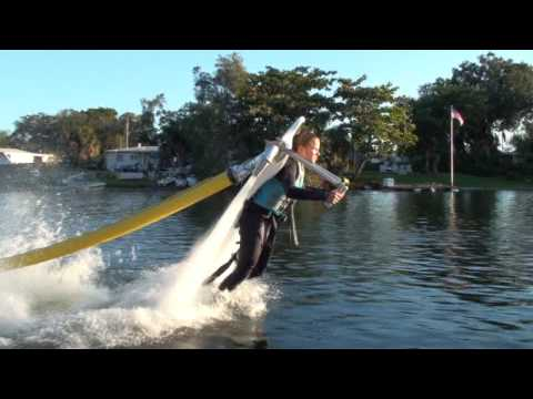 water jetpack - JETLEV-FLYER, the amazing water-propelled jetpack!