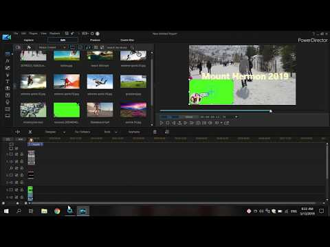 HOW TO EDIT VIDEOS USING LAPTOP | CYBERLINK POWERDIRECTOR 365 REVIEW AND DEMO