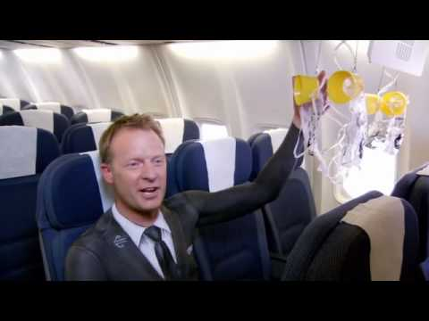 0 10 Creative Airline Safety Instruction Videos